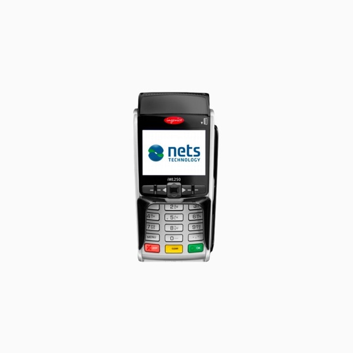 Nets iCT250E Betalterminal