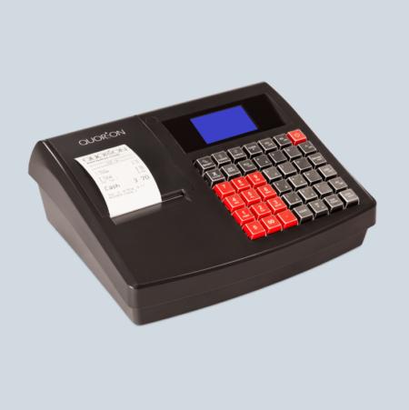 QUORION QMP-18 kassaregister med kontrollenhet och stöd för Swish