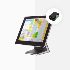 ES Premium PC Kassasystem med POSPlus 2 kontrollenhet