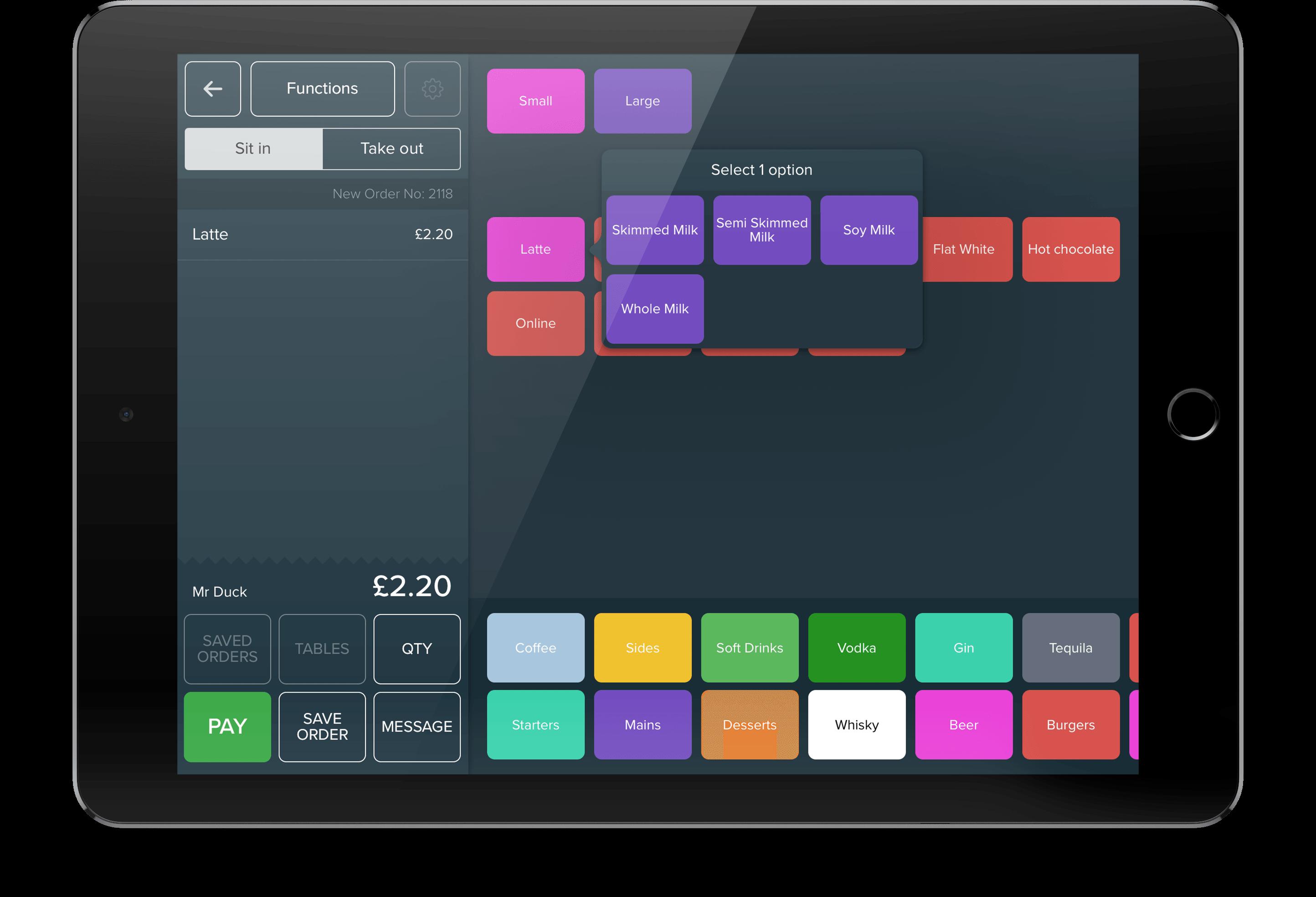 iZettle PRO med iPad