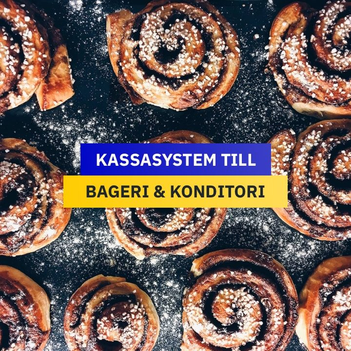 Kassasystem till Bageri & Konditori