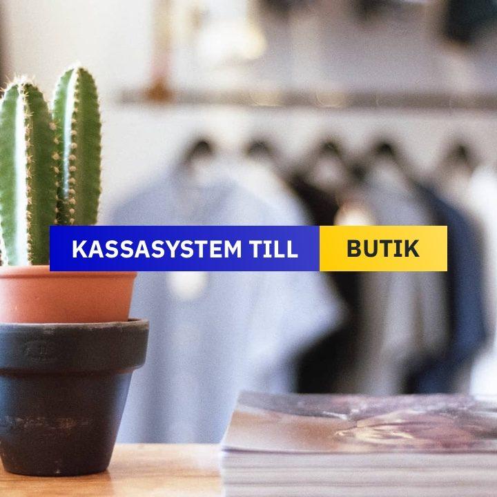 Kassasystem till Butik