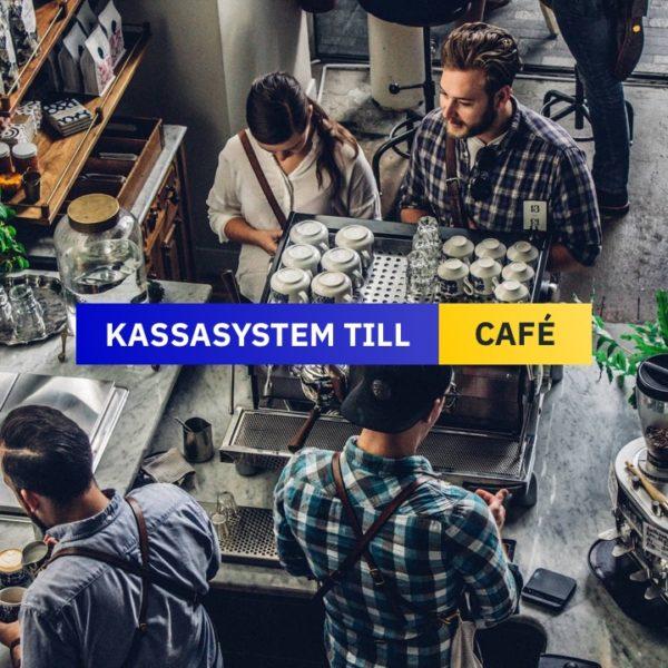 Kassasystem till Café