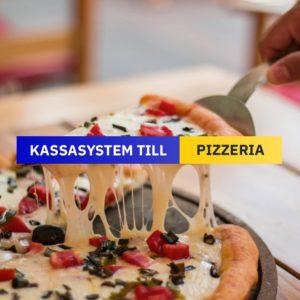 Kassasystem till Pizzeria