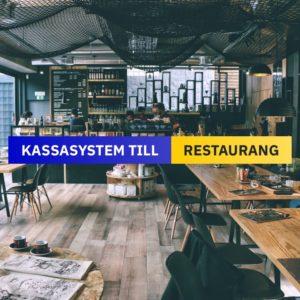 Kassasystem till Restaurang