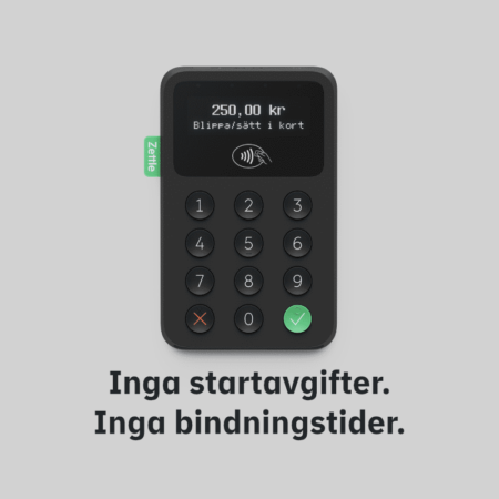 Zettle Card Reader 2 Svart