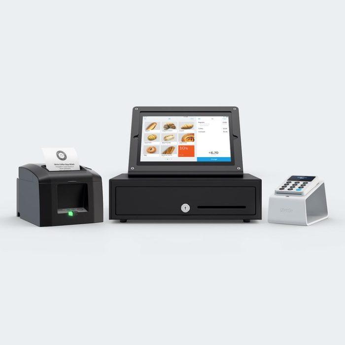 iZettle Startpaket med iPad, Star Kvittoskrivare, Kassalåda och iZettle Card Reader 2 med iZettle Dock