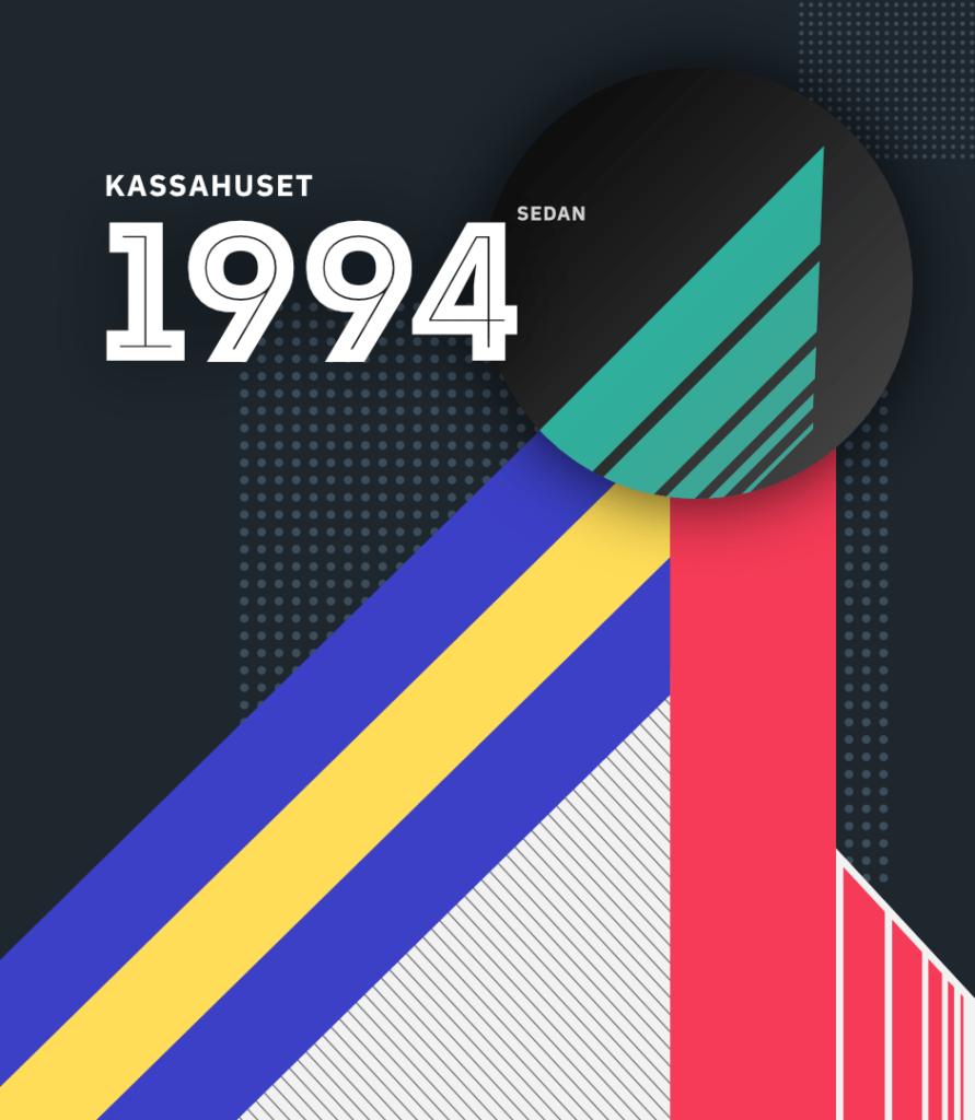 Kassahuset om oss VHS cover