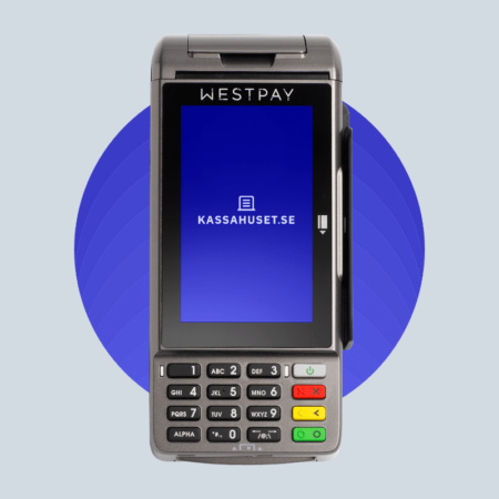 WESTPAY CARBON 100 ANDROID BETALTERMINAL KASSAHUSET