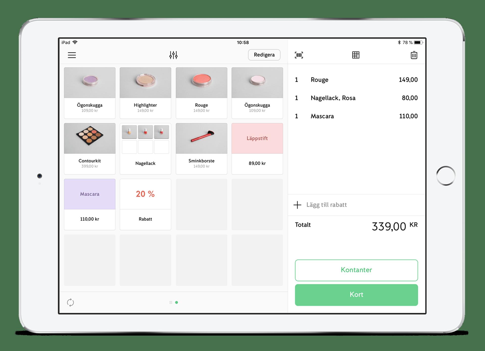 iZettle Go iOS Appen