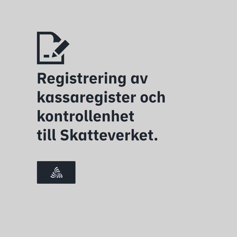 Registrering till Skatteverket.