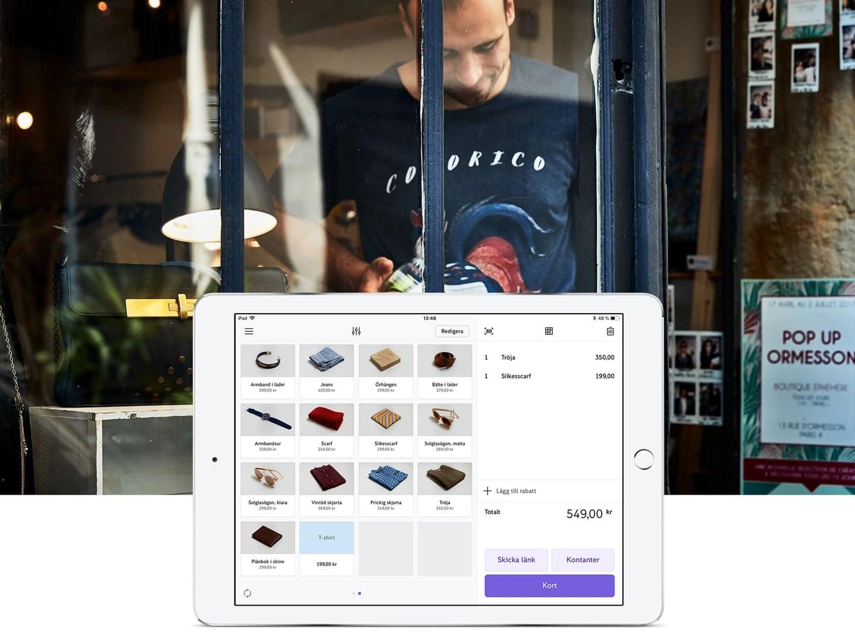 Zettle iPad